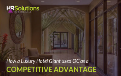 How a Luxury Hotel Giant used OC as a Competitive Advantage