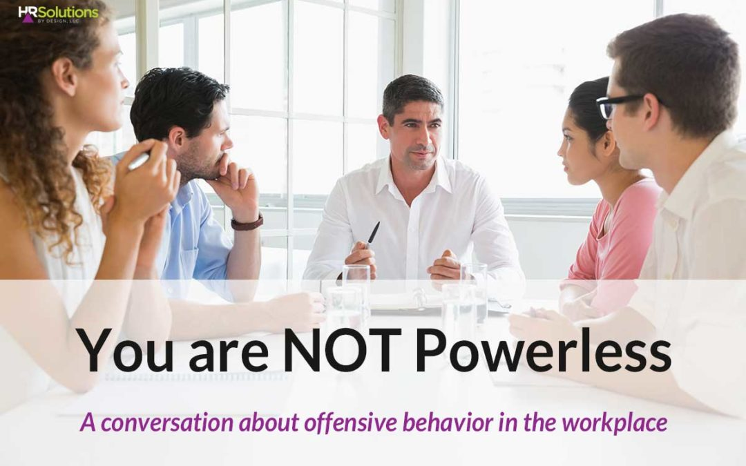 You are NOT Powerless