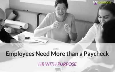 Employees Need More than a Paycheck