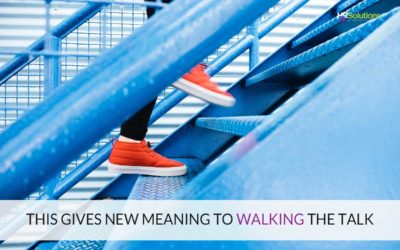 This Gives NEW Meaning to Walking the Talk