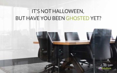 It's Not Halloween, but have you Been Ghosted Yet?