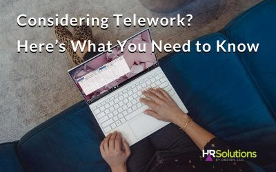Considering Telework? Here's What You Need to Know