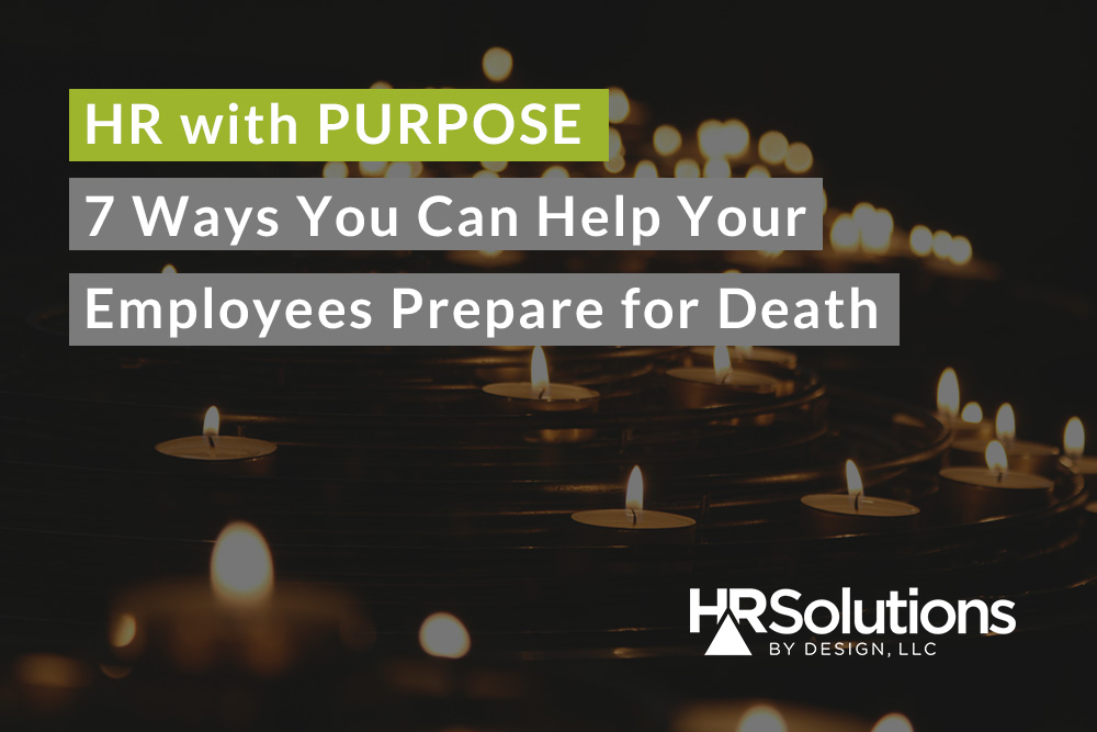 hr preparing for death